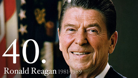 RONALD REAGAN 1981-1989