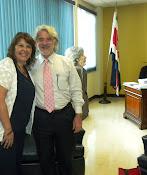 Agosto  2011.Presentación del Programa en Costa Rica