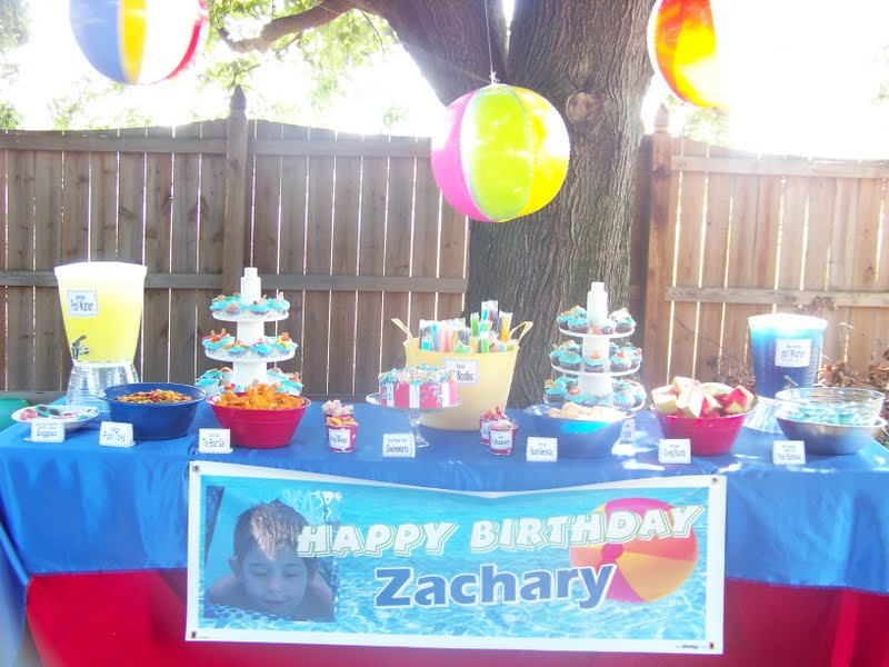 So we had to plan a special birthday party for him.