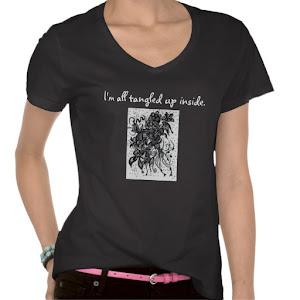 """I'm all tangled up inside."" T-Shirt"
