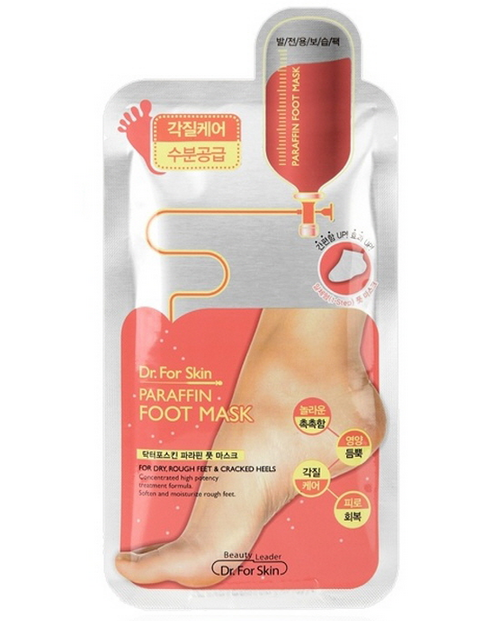 Dr. For Skin Paraffin Foot Mask 5-piece