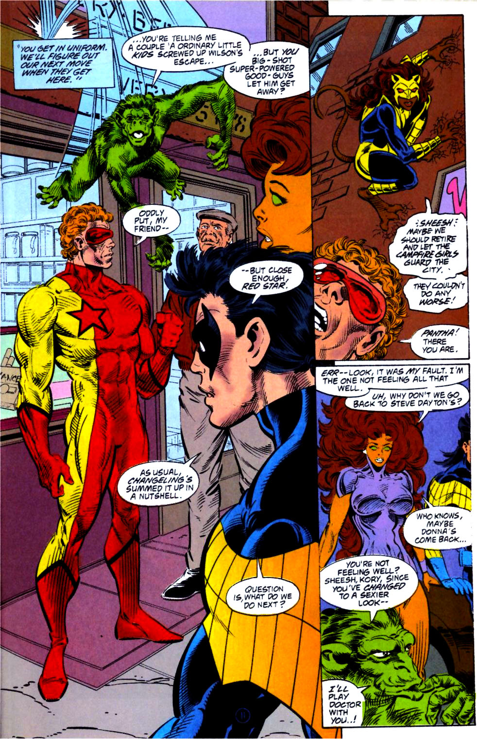 Deathstroke (1991) Issue #14 #19 - English 12