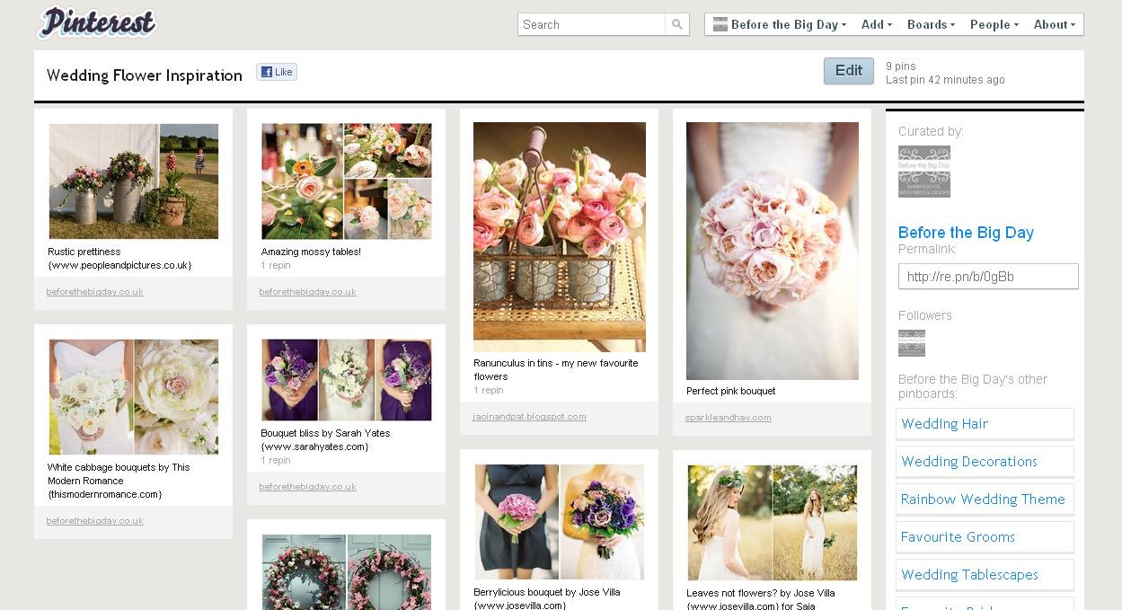 Wedding Inspiration Boards on Pinterest