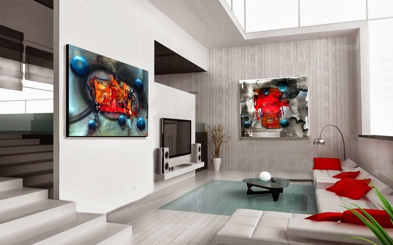 Venda de quadros com pinturas originais artes pl sticas for Pinturas modernas para interiores