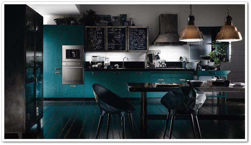 Moderne kjøkken for store og små mellomrom - interiør inspirasjon