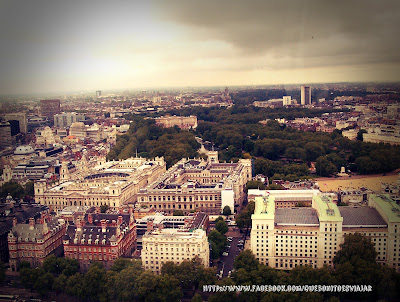 Saint Jame's Park y Buckingham Palace desde London Eye