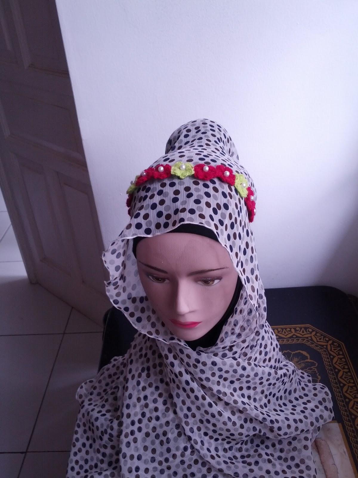 Headband Bunga Rajut (HB)
