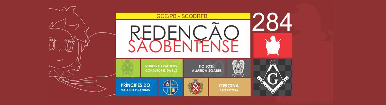"""Blog do Capítulo """"Redenção Sãobentense"""" n° 284"""