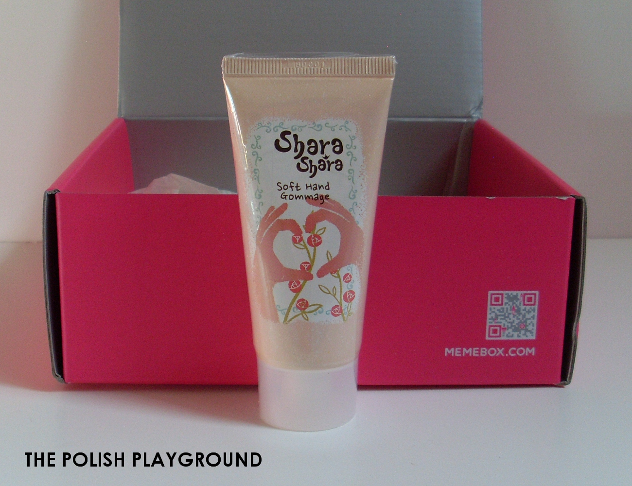 Memebox Special #26 Hand & Nail Care Unboxing - Shara Shara Soft Hand Gommage