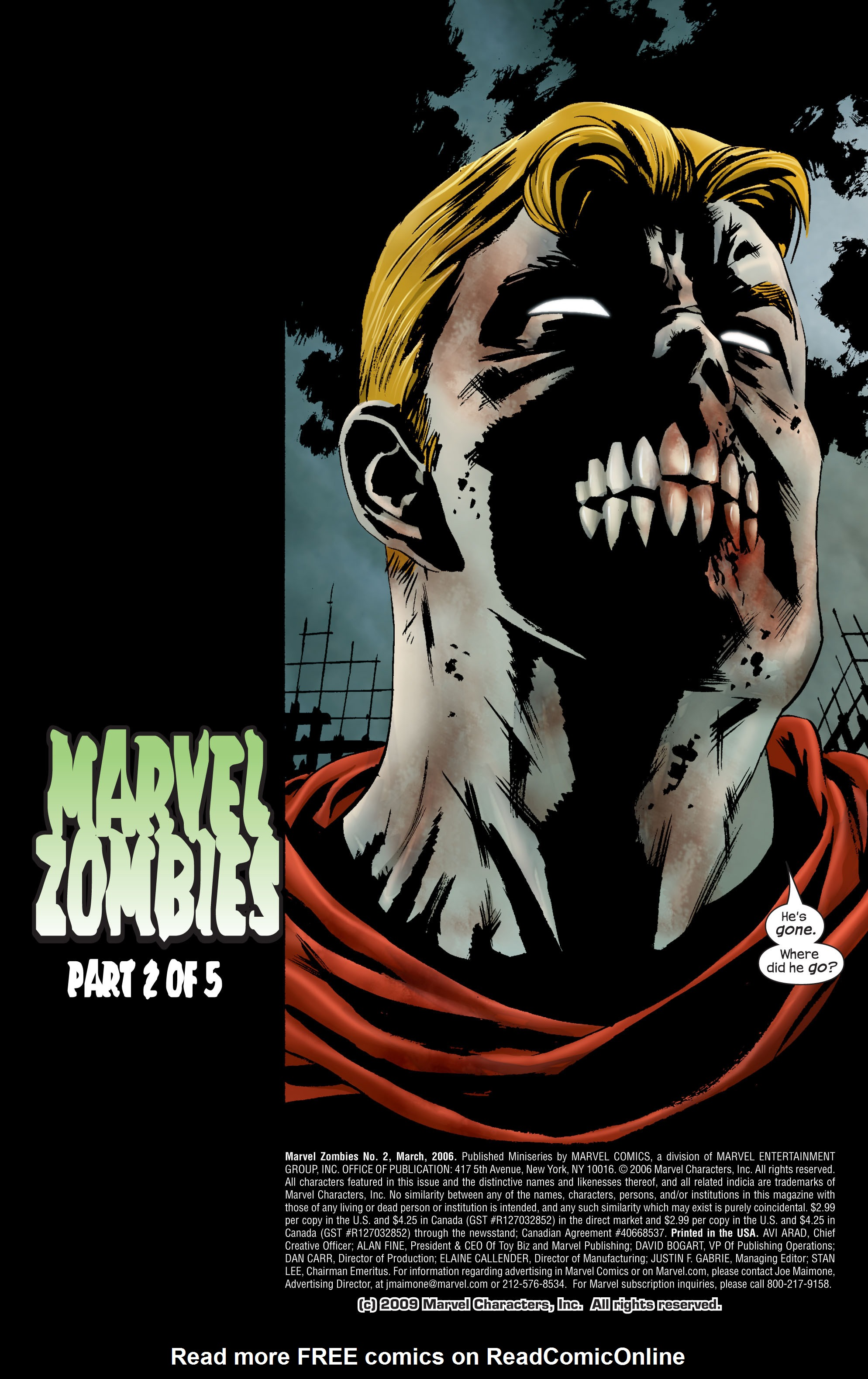 Marvel Zombies (2006) Issue #2 #2 - English 2