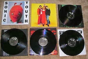 Sonic Youth - Dirty (1992) art sound box set 4LP
