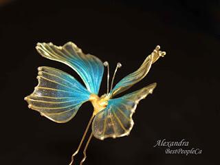 japanese kanzashi butterfly