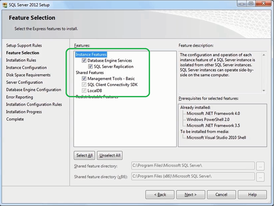 How to Install SQL Server 2012 Express    5
