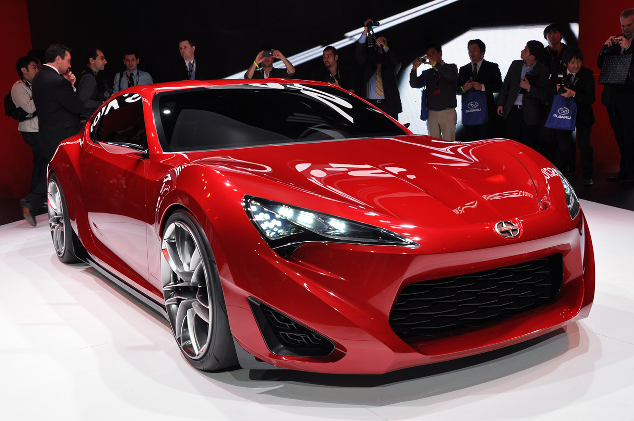 New Car Reviews Amp Road Test Cars Toyota Scion Fr S Concept
