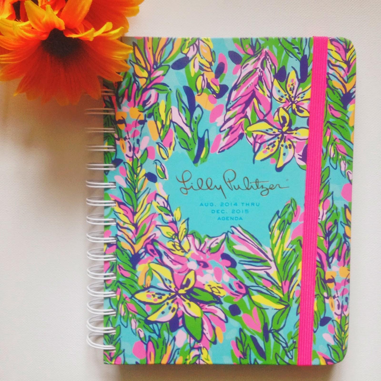Lilly Pulitzer, planner, agenda, organization, Hot Spot, giraffe