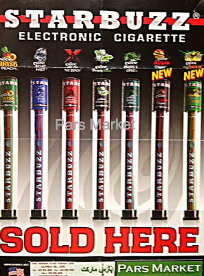 Starbuzz Electronic Cigarette Poster at Pars Market