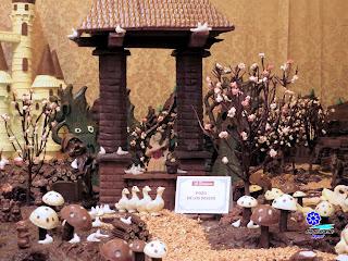 Sevilla - Navidad 2014 - La ciudad de chocolate de La Estepeña