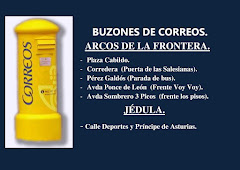 BUZONES DE CORREOS EN ARCOS Y JÉDULA