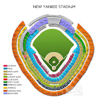 3d View Picture: 3d Yankee Stadium Seating Chart