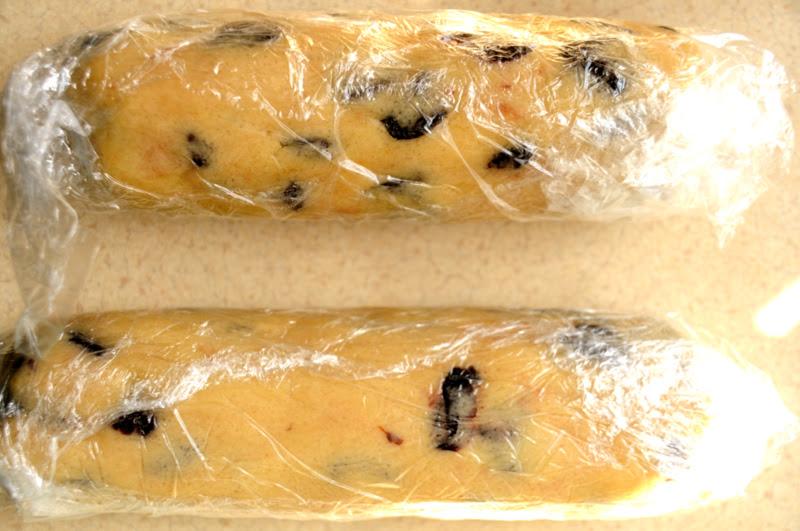 Печенье с сушеной вишней или вишневые монетки