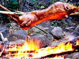 Thịt quay nướng