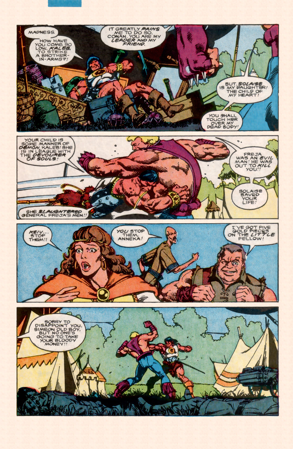 Conan the Barbarian (1970) Issue #199 #211 - English 6