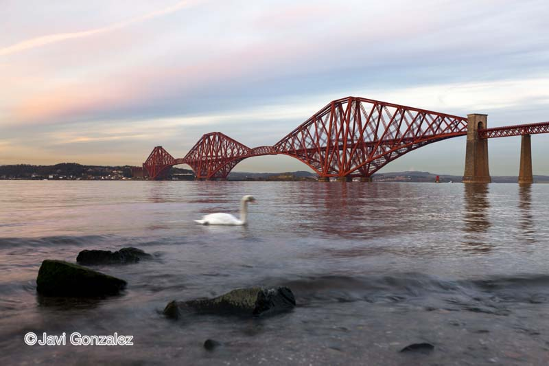 South Queensferry, Scotland, Forth Bridge,