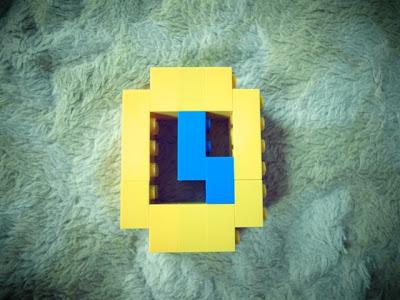 レゴフォント 時計