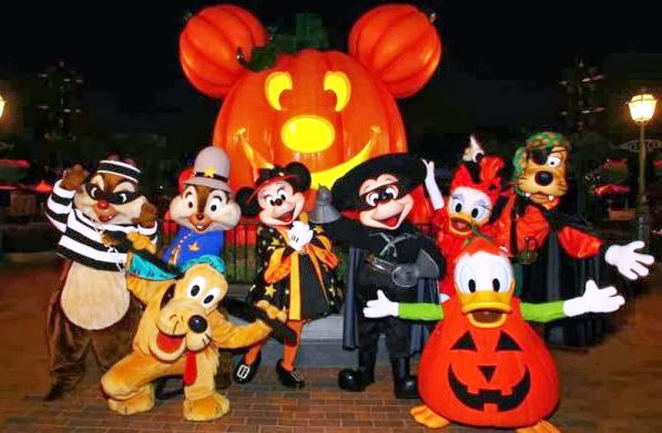 Halloween Parques Orlando Disney
