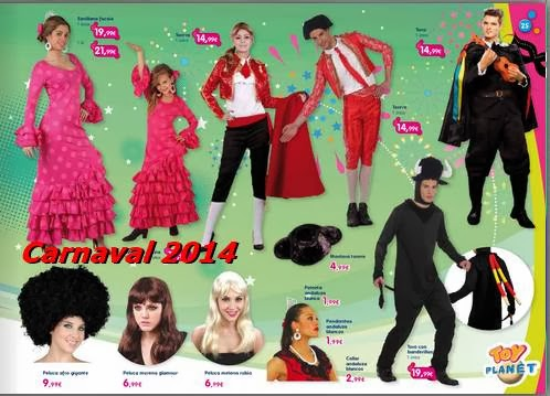 catalogo toy planet carnaval 2014