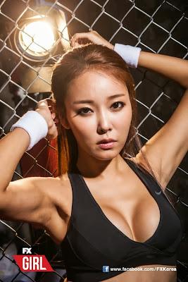 Lee Da Hee Sexy Model FX Girl Magazine October 2013