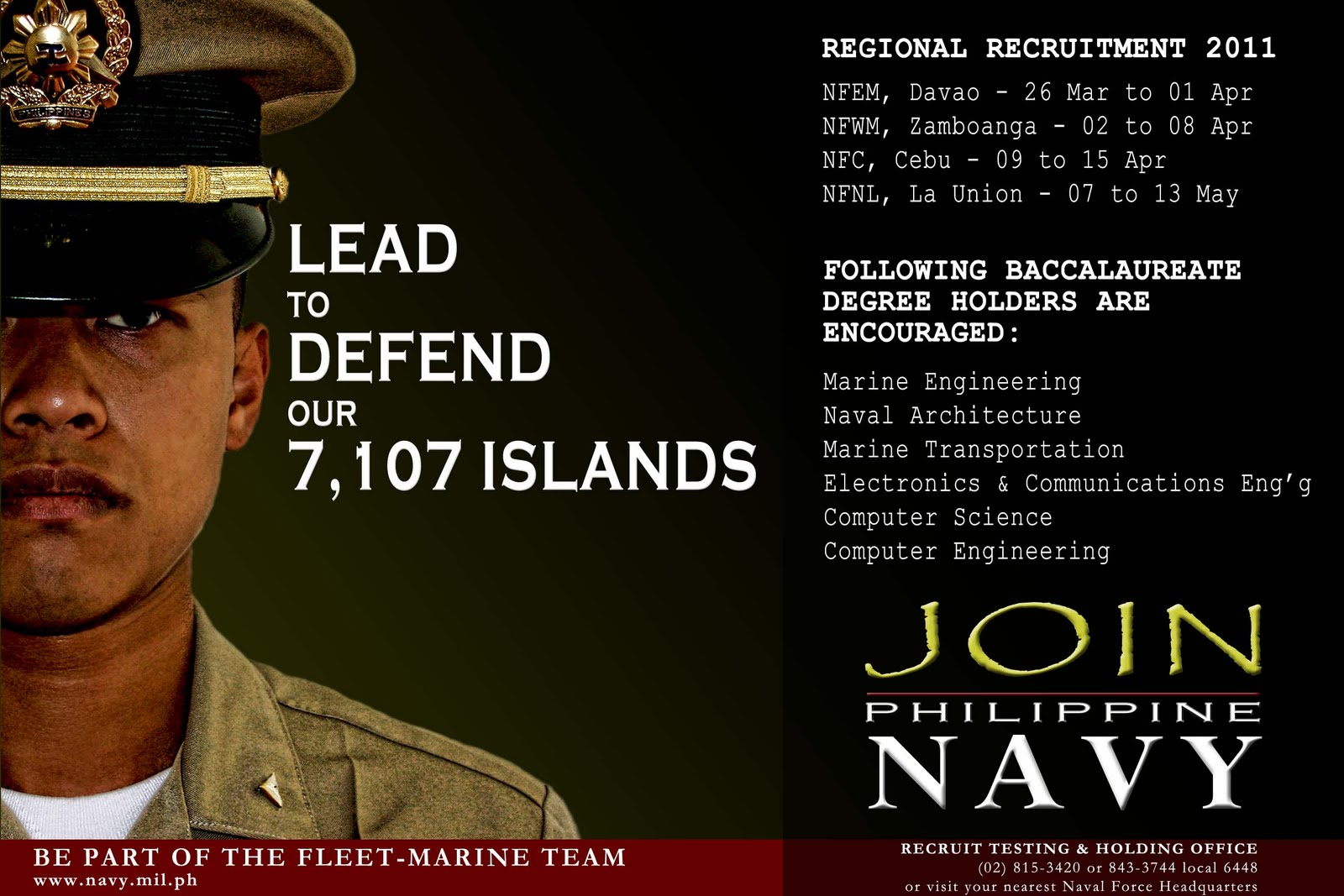 Navy Today Philippine Navy Recruitment Posters