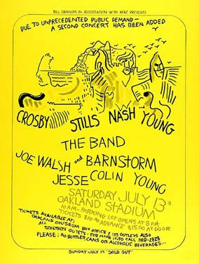 CSNY Poster