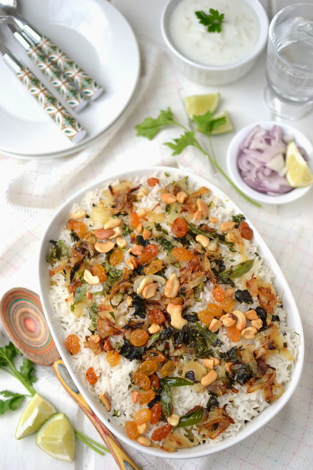 Kerala Vegetable Biryani