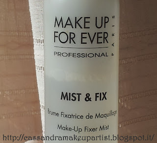Mist & Fix_Make Up For Ever_Fissatore Trucco_MUFE_inci_ingredienti_prezzo_pao_recensione_review