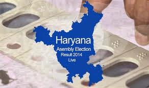 Haryana Vidhan Sabha Election Results 2014
