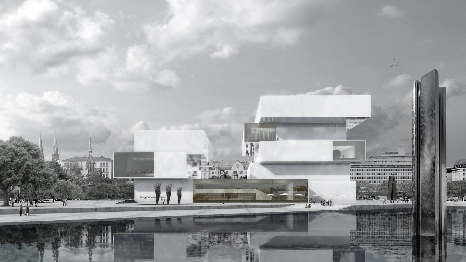 A f a s i a schmidt hammer lassen architects - Architecture moderne residentielle schmidt lepper ...