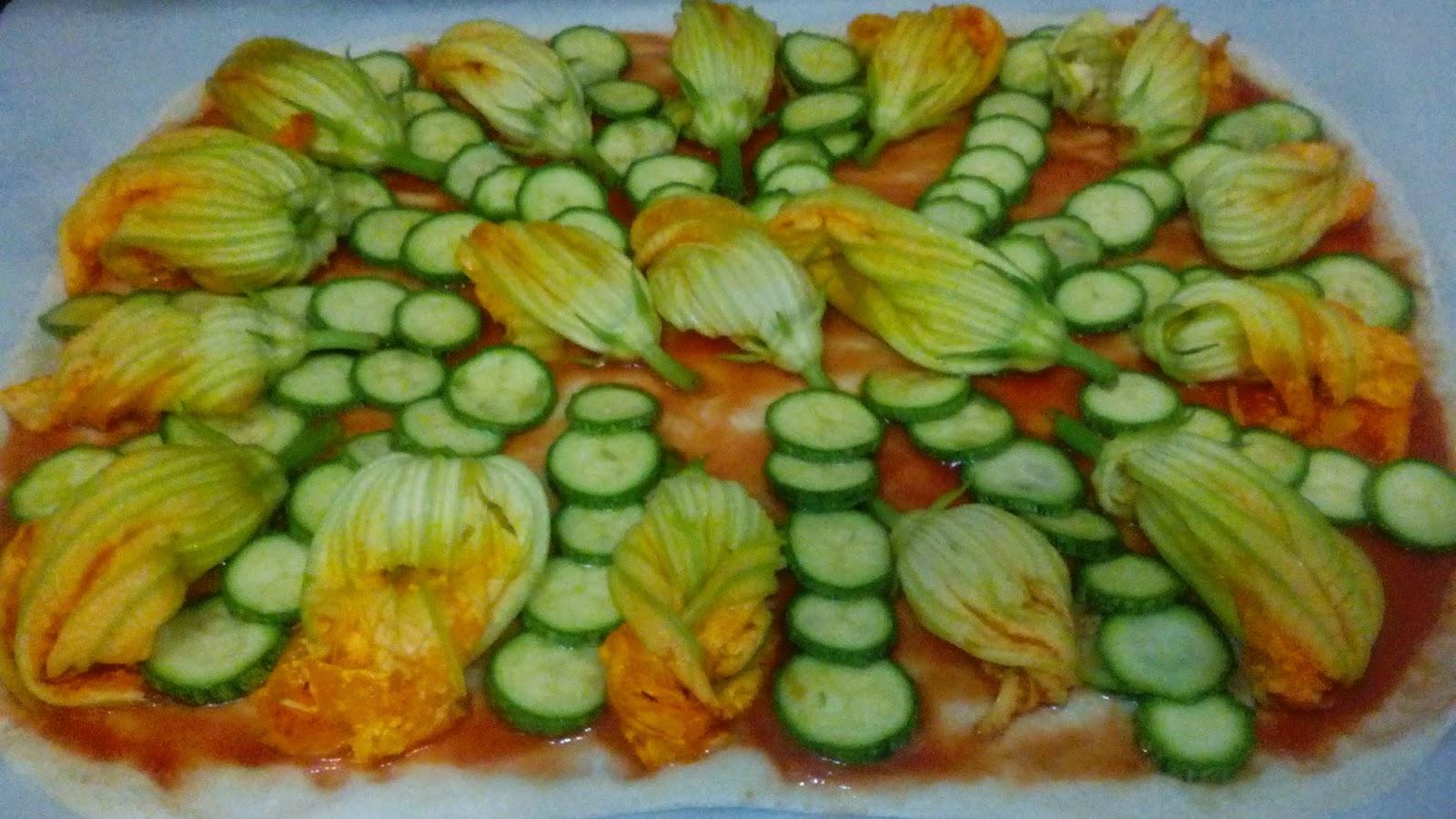 pizza zucchine dorita