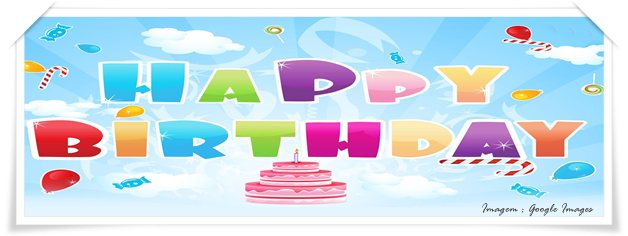 Feliz aniversário happy birthday