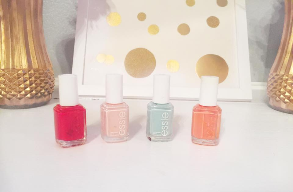 essie spring nail polish