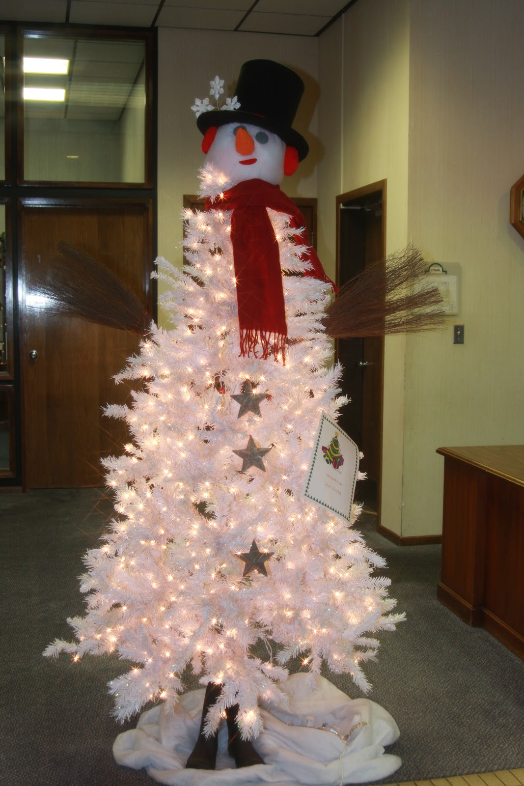 This is my tennessee how to make a snowman tree