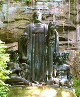 Richard Guhr: Richard-Wagner-Denkmal im Liebethaler Grund. 1912/1933