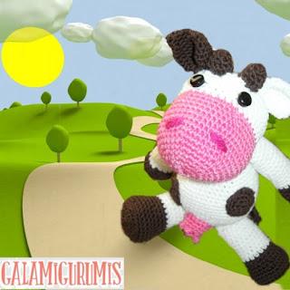 Vaca Lechera Amigurumi : Patrones Amigurumi: Vaca lechera