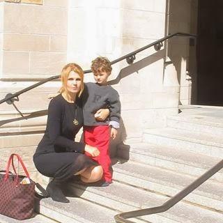 "Iulia Motoc si Luca Motoc, ""Micul Print"" (asa ii spun eu), Yale University"