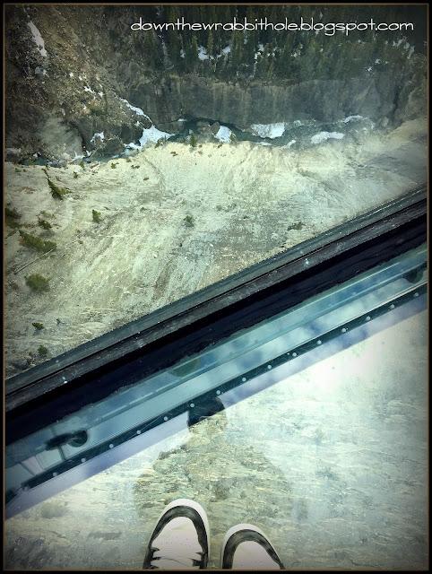 glacier skywalk alberta canada