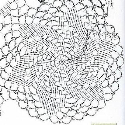 Схема и описание вязания берета из хлопка Сосо