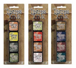 Mini Distress Inks Kits 10, 11 & 12