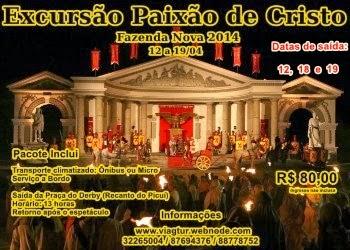 PALACIO DE HERODES PAIXÃO DE CRISTO 2014