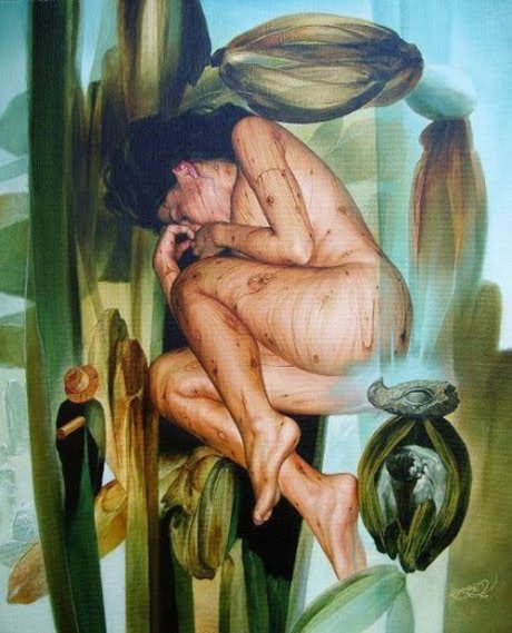 Julio Cesar Rodriguez 1976 | Cuban Surrealist painter