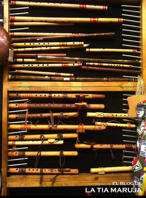 Biocultura Madrid flautas indigenas